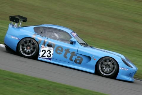 Ginetta-Car-Car Graphics