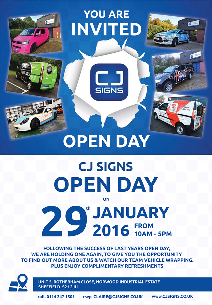 Cj-Signs-Open-Day-2016