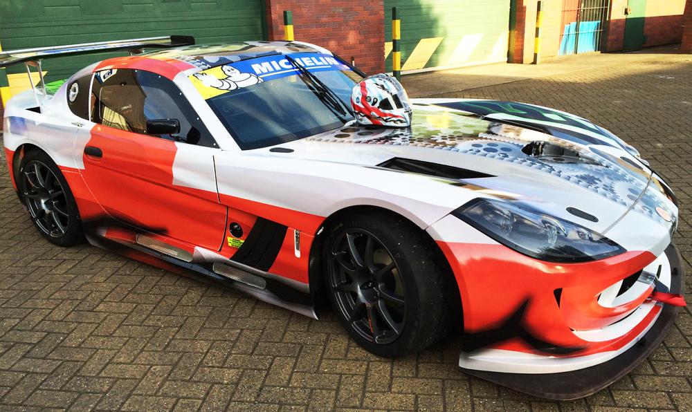 Ginetta G55 Racing Car Wrap