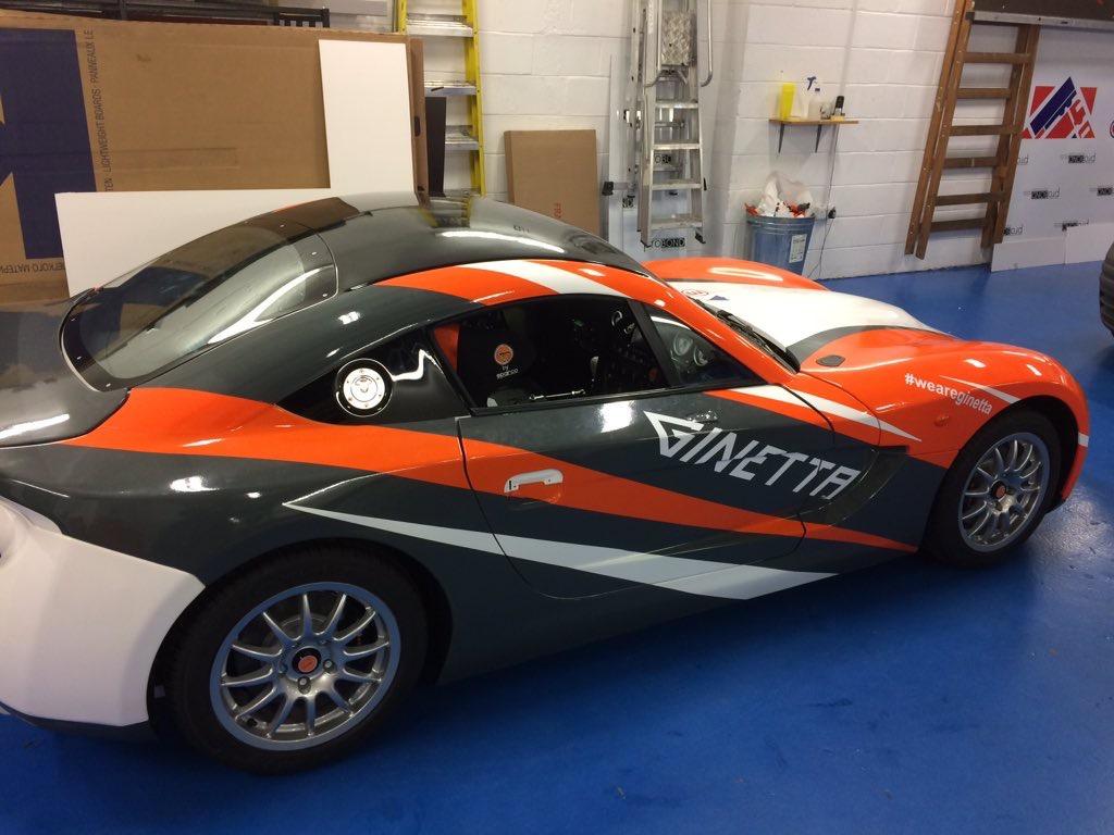 Autosport International Ginetta Wrap