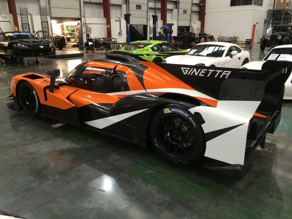 Ginetta Car Wrap