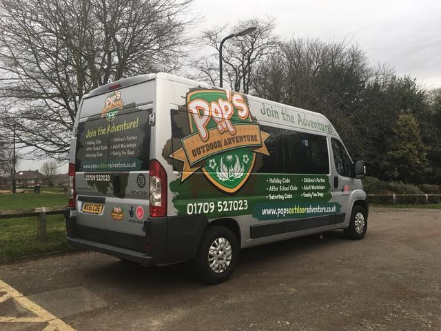 Mini Bus Vehicle Wrap