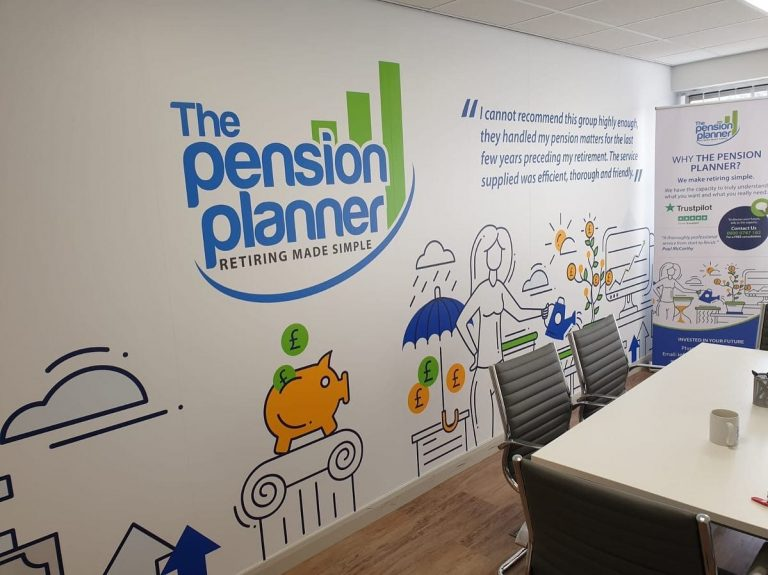 The Pension Planner Wall Art 3