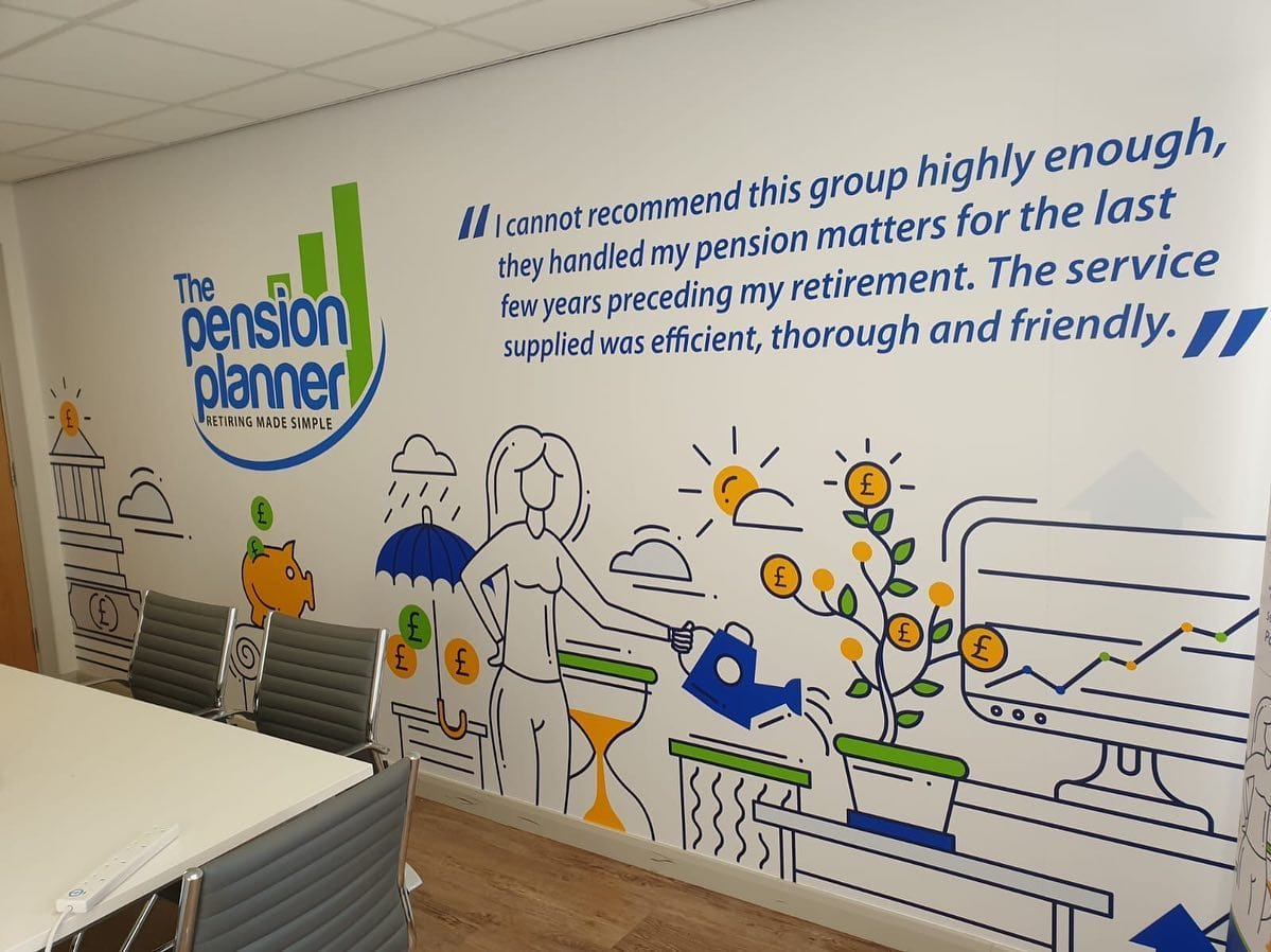 The Pension Planner Wall Art 4