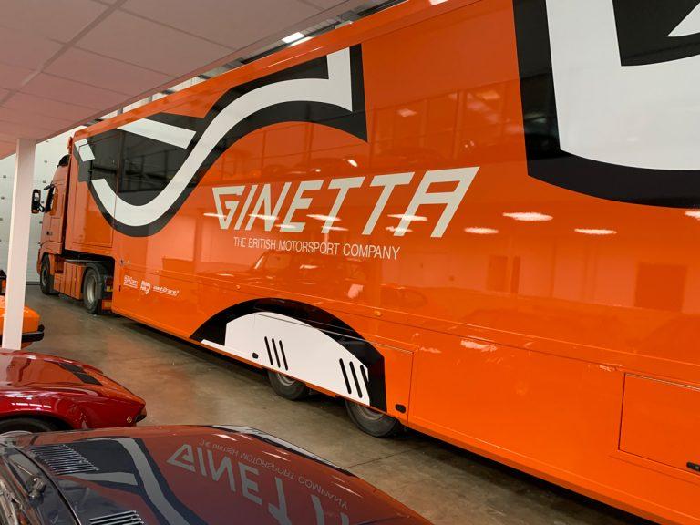 Ginetta-Truck-Livery
