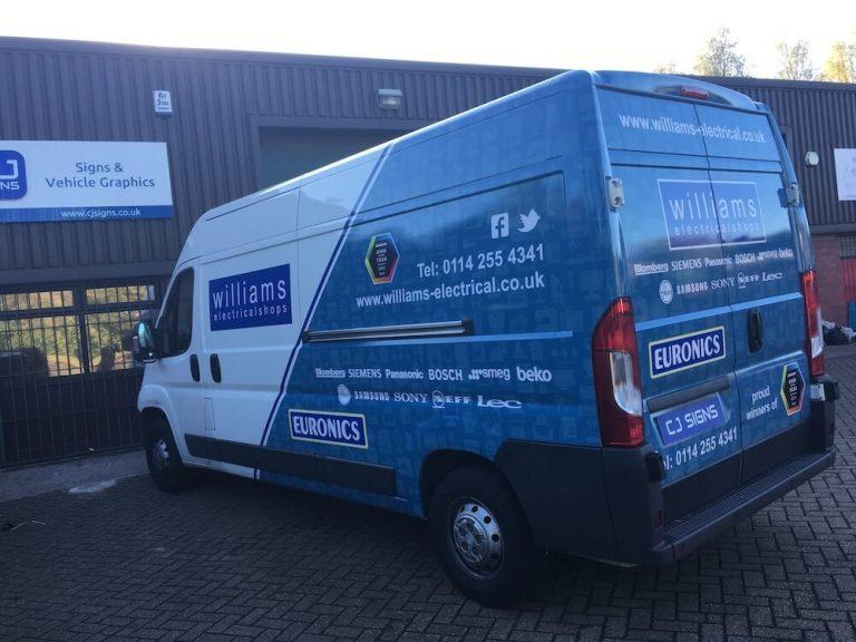 Van Wrap Sheffield 2