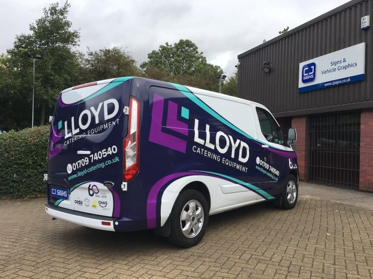 Van Wrapping Sheffield 1