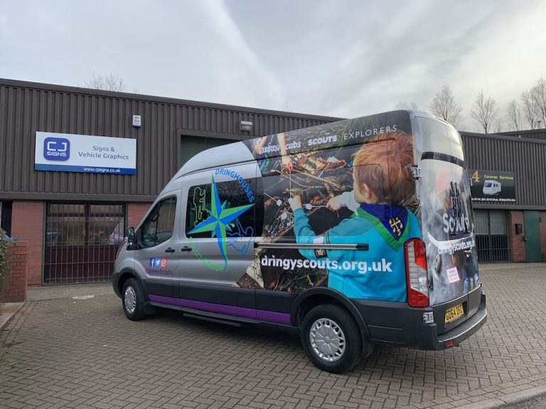 Van Wrapping Sheffield 4