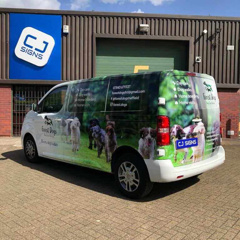 Van Wrapping Sheffield 9