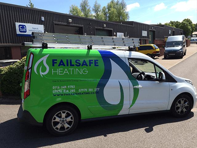 Fail-Safe-Heating-Van-Graphic