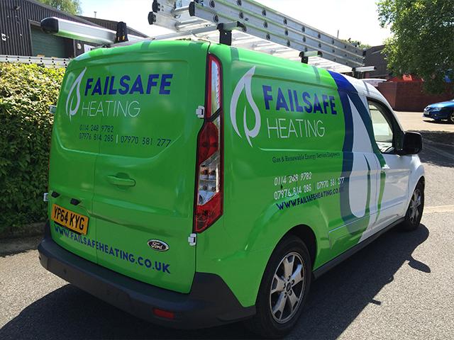 Fail-Safe-Heating-Van-Wrap