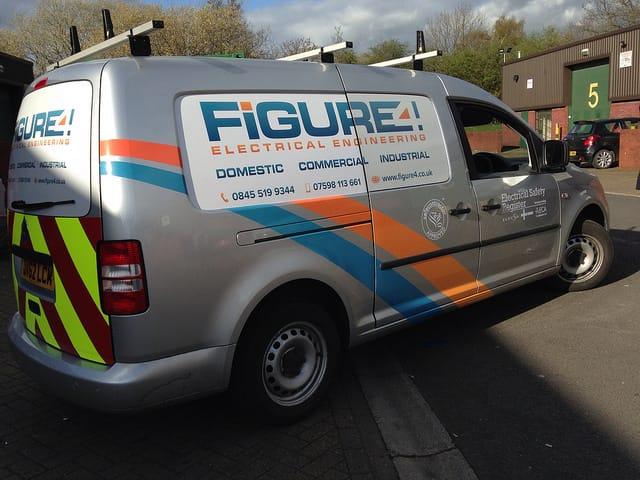 Figure-Electrical-Enginering-Van-Graphics