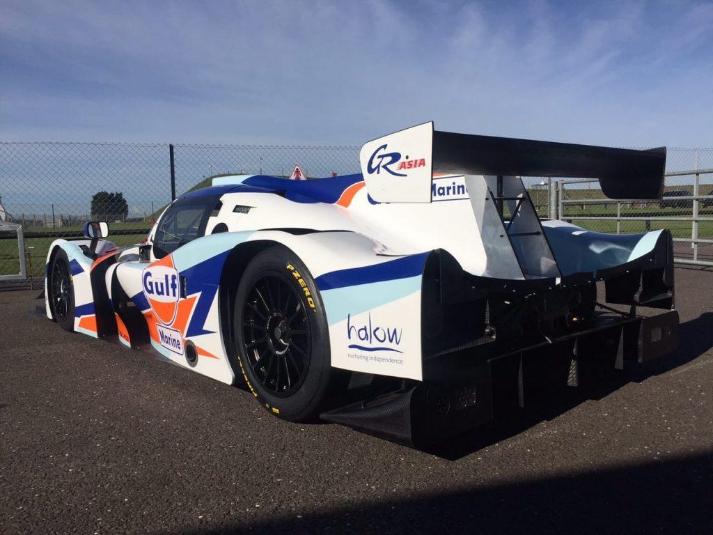Gulf-liveried-Ligier-JS-P3
