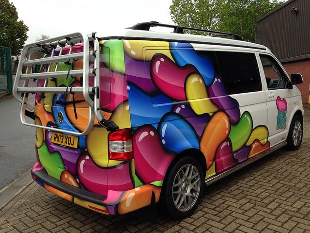 Jellybean-van-wrap