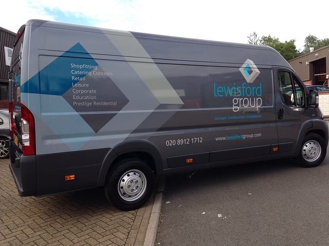 Lewisford-Group-van-wrapping