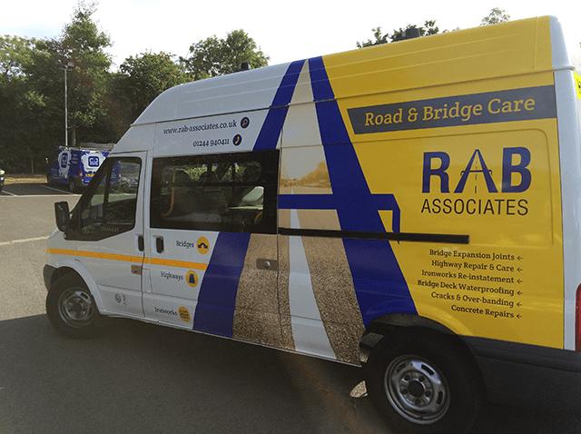RAB-Van-Wrapping