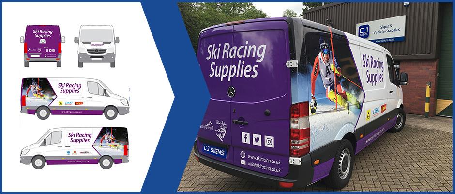 Ski-Racing-Supplies-Van-Design