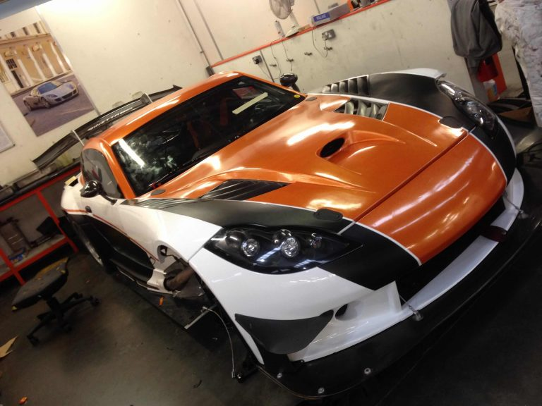 ginetta-G50-car-wrapping-yorkshire
