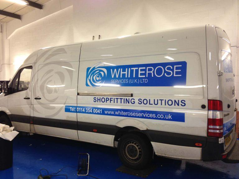 white-rose-sprinter-van-graphics