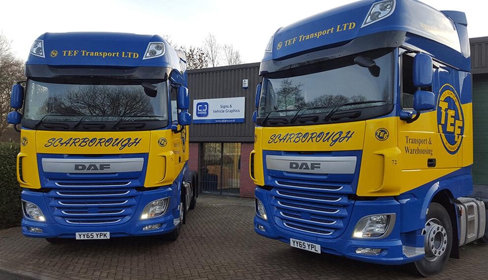 Lorry-wrap
