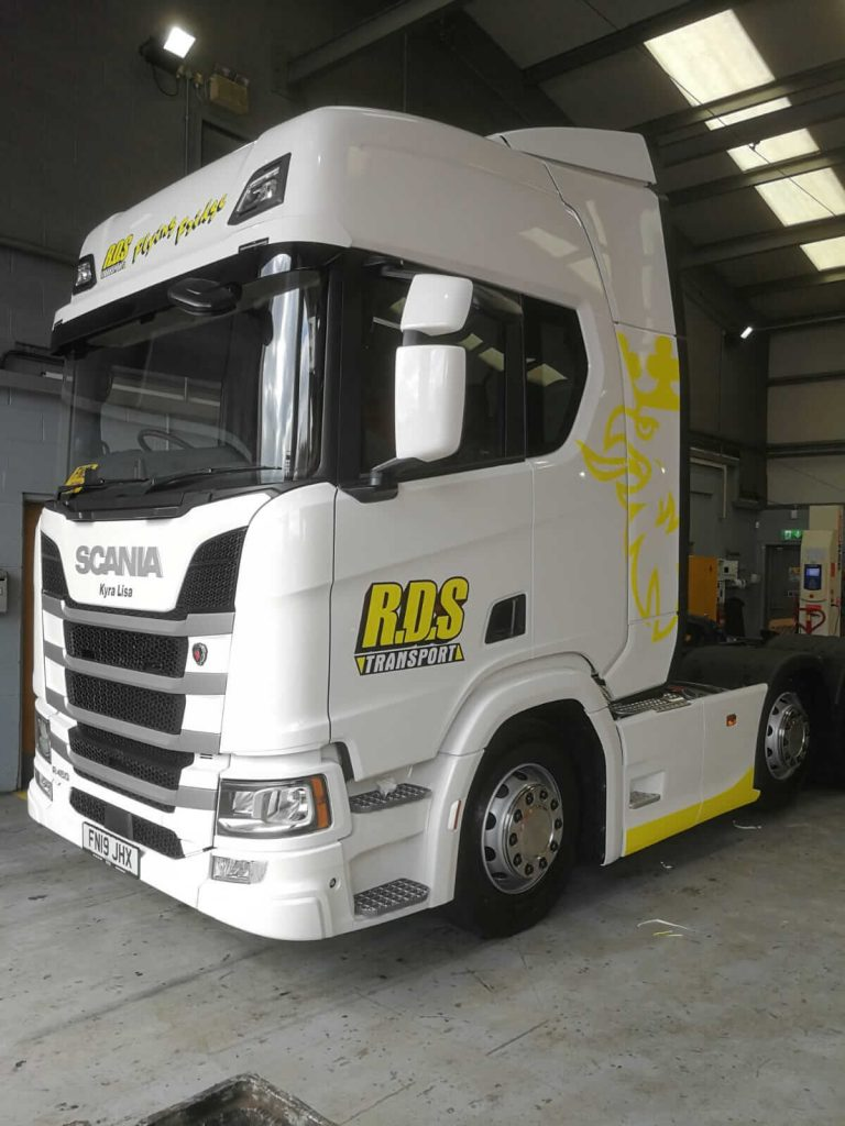 Truck and lorry wrap gallery 1