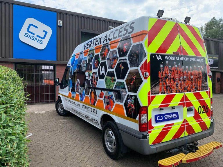 vehicle Graphics Sheffield 3